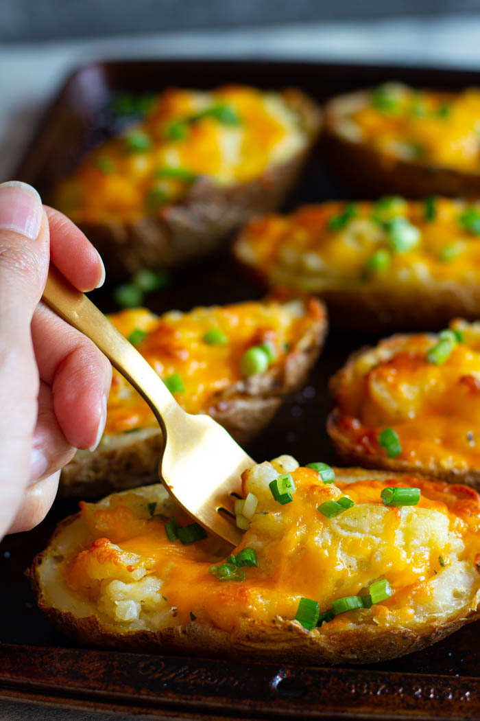 Ultimate Twice Baked Potatoes Recipe Easy Potato Recipes